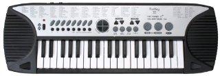 Funkey 37 - Tastiera per bambini a 37 tasti, con alimentatore di rete, 100 suoni/100 ritmi/10 canzoni demo preimpostate