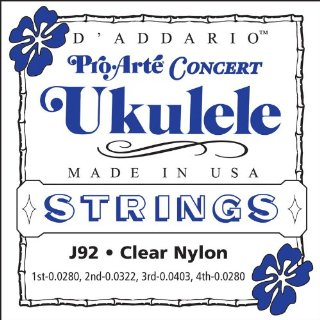 Commenti per D'Addario J92 Pro Arte Concert Ukulele