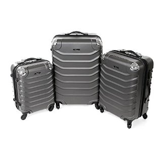 Commenti per Business Valigia rigida Trolley Set bagagli anthracite