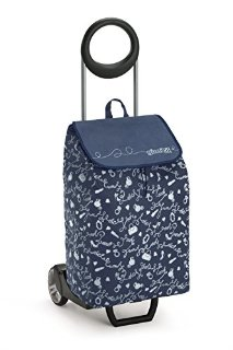 Gimi Easy Carrello Portaspesa, TNT, Blu