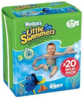 Little Swimmers Pacco Doppio Taglia 3/4 (7-15 Kg)