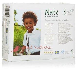 Recensioni dei clienti per Naty da Nature Babycare ECO Pannolini - Taglia 3, 4 x Confezioni da 31 (124 Pannolini) | tripparia.it