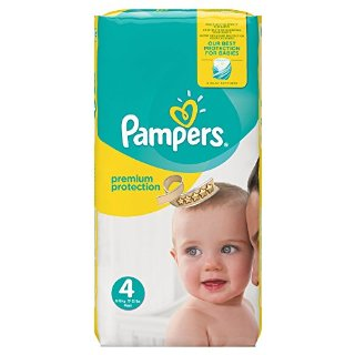 Pampers, Pannolini Premium Protection...
