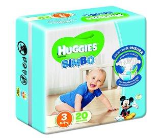 Huggies - Pannolini Bimbo 3 Md X20