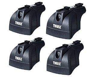 Thule 753 - 4 Piedi per barre portatutto