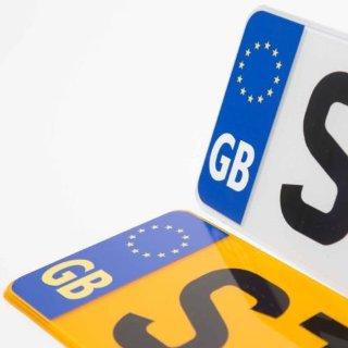 Simbolo adesivo da strada GB Europer...