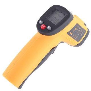 KKmoon Termometro Infrarosso Digitale Senza Contatto Laser IR Infrared Thermometer -50℃-550℃