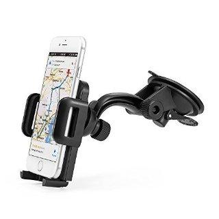 Anker® Supporto da Auto Universale Multiangolo per Cellulari e Telefonini, da usare con Samsung, LG, Nexus, HTC, Motorola, Sony e altri Smartphone e Dispositivi.