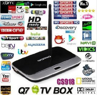 Quad Core Android 4.2 TV Box (MINI PC)