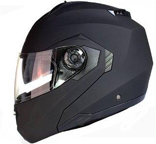 Casco da motocicletta modulare con do...