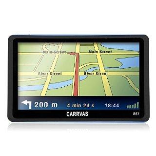 CARRVAS GPS Navigatore per Auto EU Ma...
