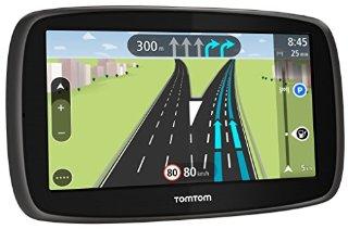 TomTom Start 60 Europa Completa 45 Paesi GPS,  Schermo 6'', Aggiornamento Mappe a Vita Incluso, IQ Routes [Italia]