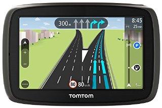 TomTom Start 40 Europa Completa 45 Paesi GPS,  Schermo 4,3'', Aggiornamento Mappe a Vita Incluso, IQ Routes [Italia]