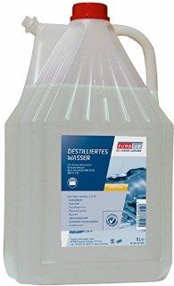 EUROLUB - Acqua distillata, 5 litri