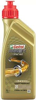 Castrol 2240-7176 Power 1 Racing 2T - Olio per moto da corsa, 1 l