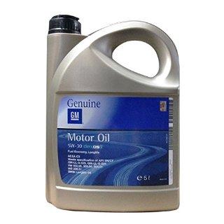 General Motor oil 5w30 dexos 2 Fuel Economy, Long Life Tanica 5 Litri