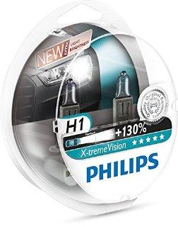 Recensioni dei clienti per Lampadine fari PHILIPS ORIGINAL XTREME VISION 130 H1 (2PCS) + S2 12258XV | tripparia.it