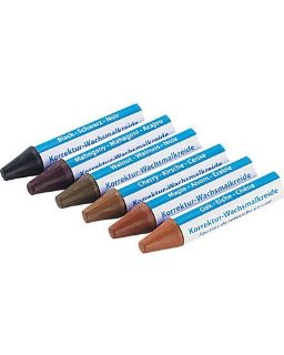 AGT - Correttori a cera per legno, 6 colori