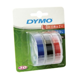 DYMO 3D label tapes