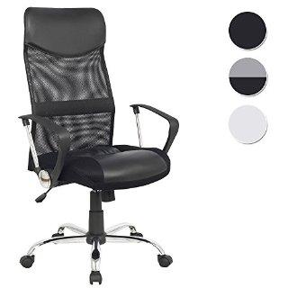 Recensioni dei clienti per SixBros. Design - sedia sedia da ufficio sedia girevole per ufficio nero - H-935-6 / 1319 | tripparia.it
