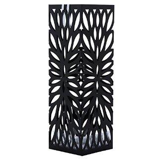 Recensioni dei clienti per Songmics 49 cm porta di metallo quadrato nero con un vassoio e ombrelloni agganciare LUC48B | tripparia.it