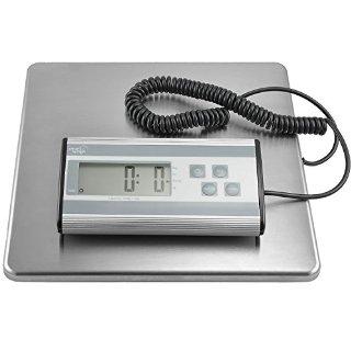 Bilancia postale e per spedizioni Smart Weigh, Robusta, Acciaio Inossidabile, Piattaforma 10,6