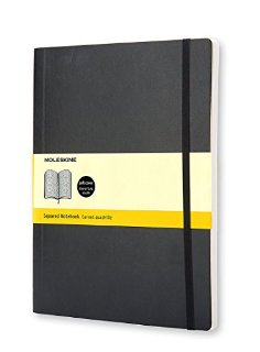 Soft cover, squared XL notebook
