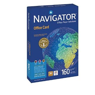 Navigator 0010CE Carta Office Card, A4, 160 G/Mq, 170 µm
