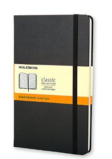 Moleskine - Ruled notebook large. Taccuino a righe L