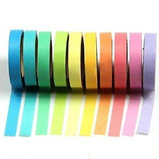 Recensioni dei clienti per 10x decorativo della carta del nastro arcobaleno del nastro di Washi nastro fai da te | tripparia.it
