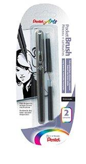 Recensioni dei clienti per Pentel XGFKP / FP10 - Pocket Brush pennello penna blister con 2 cartucce, nero | tripparia.it