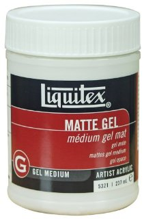 Liquitex - Medium professionale opaco in gel, 237 ml