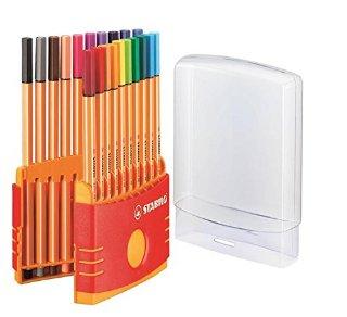 Stabilo 8820-03 Point 88 ColorParade, 20 Colori