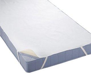 Biberna 808315-001-146 Coprimaterasso impermeabile a mollettoni 70x140 cm colore: Bianco