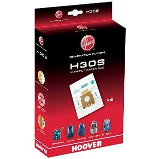 Hoover H30S Sacchetti Purefit per aspirapolvere, Confezione da 5