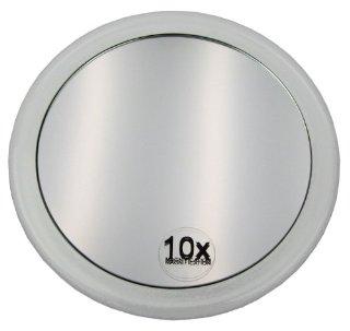 Fantasia - Specchio ingrandente 10x, con ventosa, acrilico, ø 15 cm