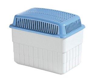WENKO 5410010100 Deumidificatore 1 kg - deumidificatore ambiente, Polipropilenica, 24 x 16 x 15 cm, Bianco