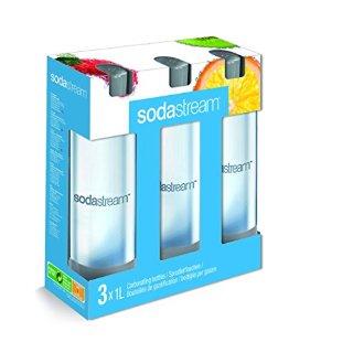Recensioni dei clienti per SodaStream 3 x bottiglia 1L in PET, colori assortiti (colore non è selezionabile) | tripparia.it
