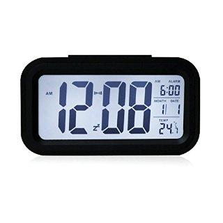Recensioni dei clienti per MILESTONE - Sveglia Sveglia 5.3 pollici - orologio LED con la data, la funzione snooze, sensore di luce e la luce di notte   tripparia.it