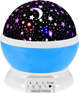 Recensioni dei clienti per [2 Gneration, 4 perline LED, 3 Modelo luce] rotazione di 360 gradi romantico cielo stellato dell'universo del proiettore della stella della lampada di trasporto (blu) | tripparia.it