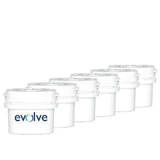 Aqua Optima Evolve Confezione da 6 filtri per 30 giorni per Brita Maxtra