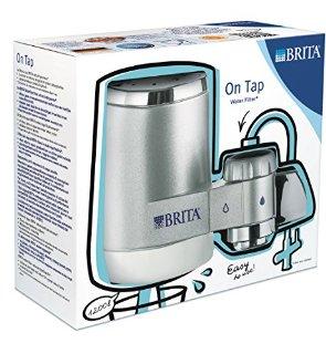 Brita 1018088 On Tap - Filtro da rubinetto grigio cromato