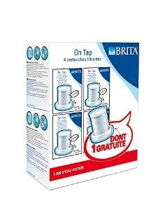 Brita On TAP 133, Confezione da 3+1 filtri, 1200 L