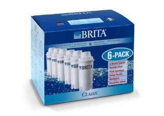 Brita France 100406, Confezione 6 filtri