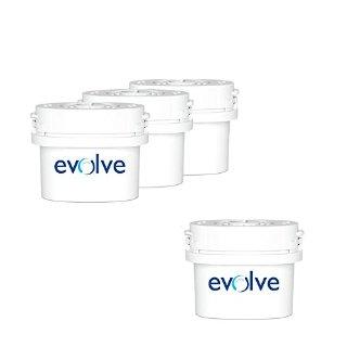 Aqua Optima Evolve - Filtro per l'acqua da 60 giorni, include filtri per 8 mesi. Adatto anche a Brita Maxtra.