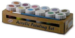 Kit di colori acrilici, 12 colori