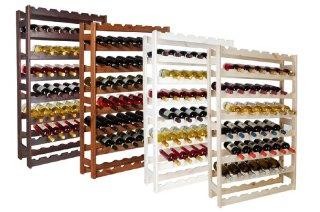 Impag - Scaffale porta bottiglie di v...