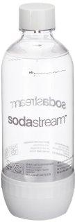SodaStream 1041115490 Bottiglia PET 1 Litro, colore: Bianco