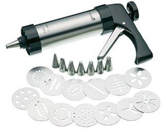 Kitchen Craft, Set Pâtisserie: Pistola per dolci con trafile [Importato da Regno Unito]