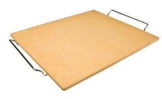 Ibili 784340 - Pietra refrattaria per pizza, rettangolare, 40x35x1,5 cm